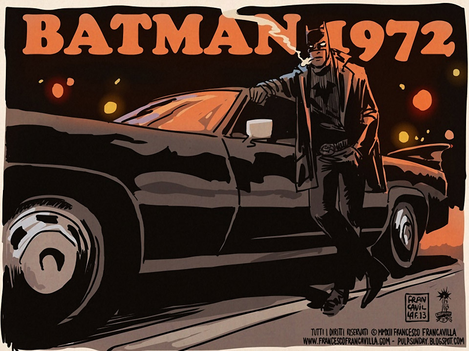 Batploitation: Illustrations from 1970s Batman