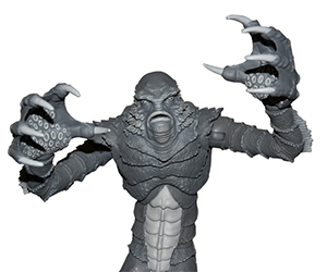 Limited Edition Creature From the Black Lagoon B&W