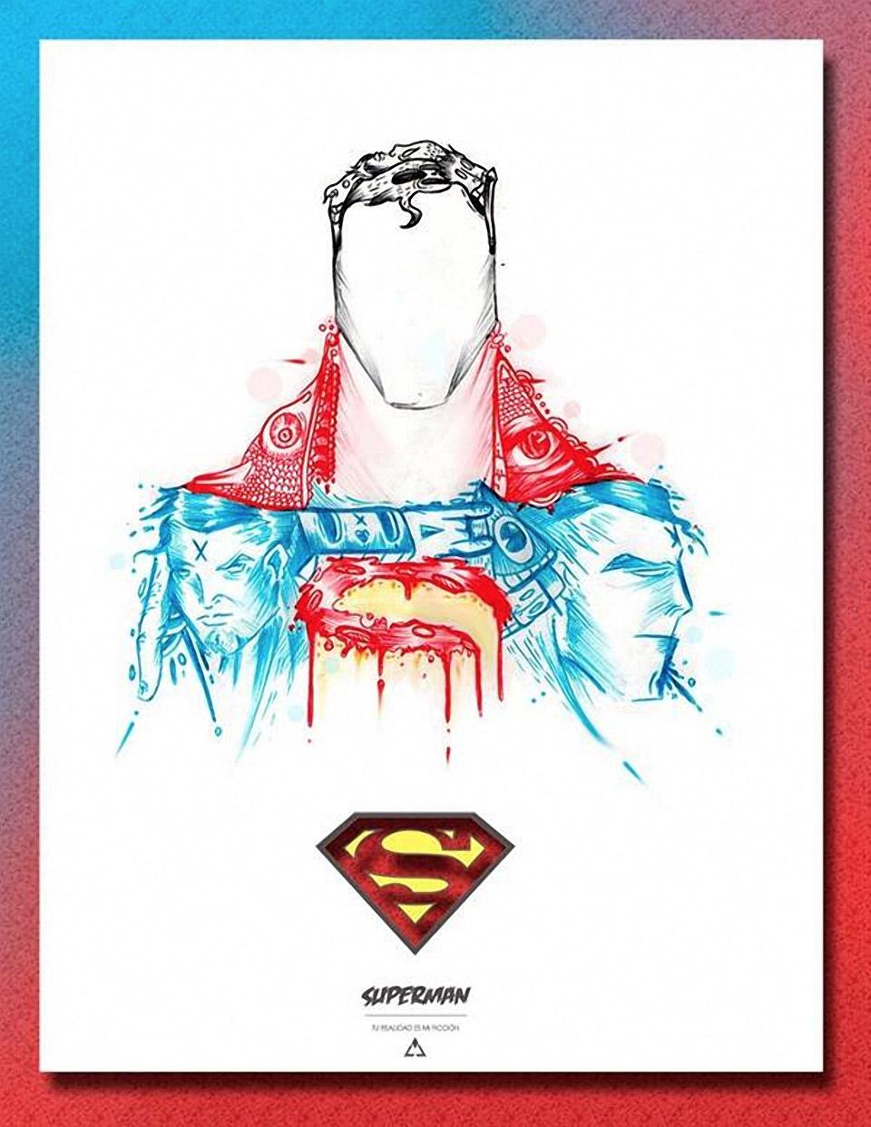 DC Comics Superheroes Sketches