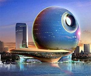 Death Star Architecture Around the Globe