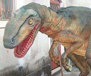 Fan Made Velociraptor Suit
