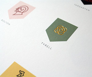 House of Westeros Sigil Poster