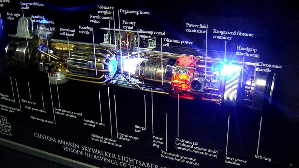A GE Engineer Explains How Lightsabers Work