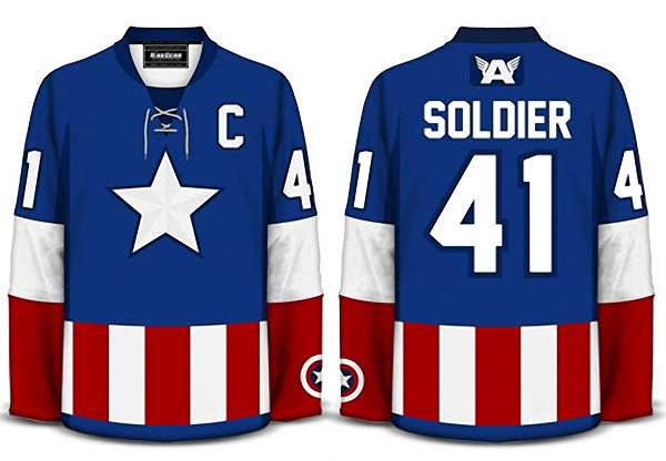 8d3abd2d2ab7 Superheroes and Science Fiction Sports Jerseys - MightyMega