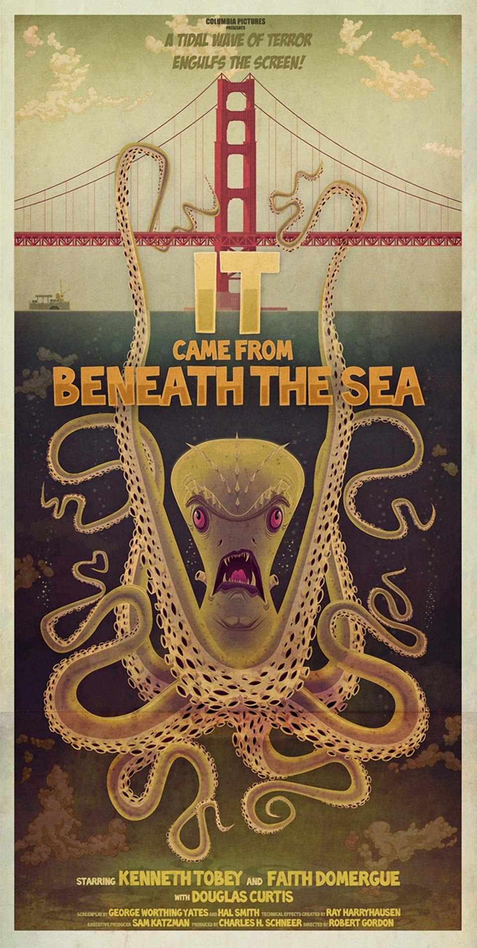 Monster Print: It Came From Beneath the Sea