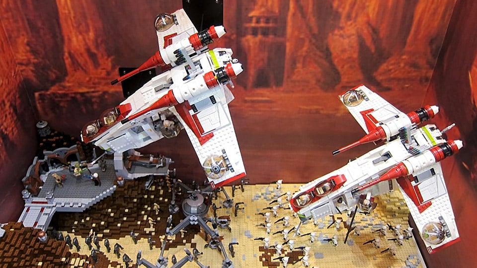 Star Wars Toys 2013 : Tokyo toy show lego star wars mightymega