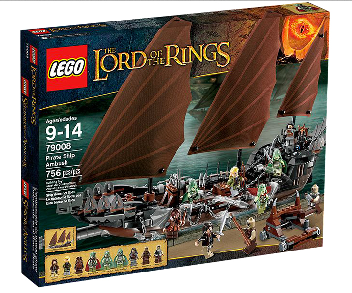 New LEGO Lord of the Rings Sets Available
