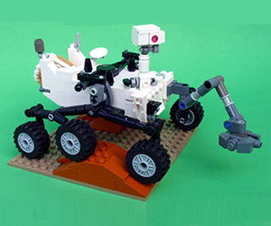 LEGO Announces Mars Curiosity Rover Set Coming
