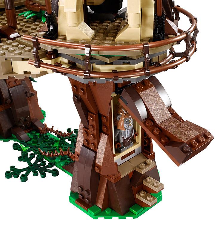 Lego Announces Huge Star Wars Ewok Village Set Mightymega