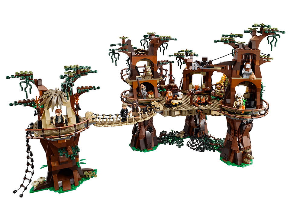LEGO Announces Huge Star Wars Ewok Village Set