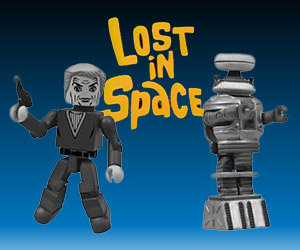 Lost in Space: Dr. Smith and Robot Minimates