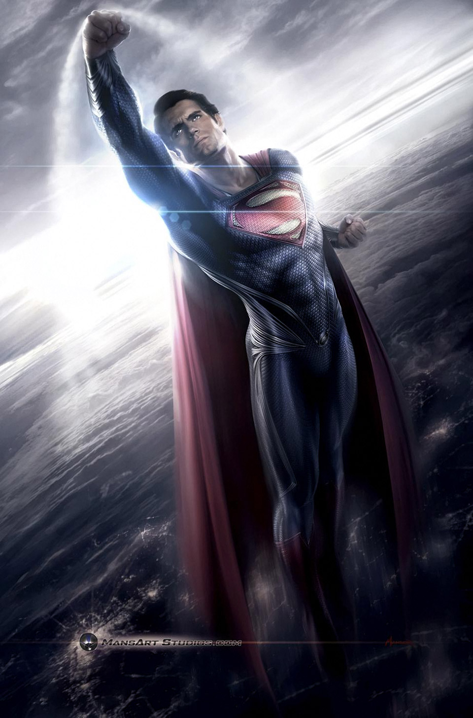 Man of Steel Costume Design and Concept Art - MightyMega