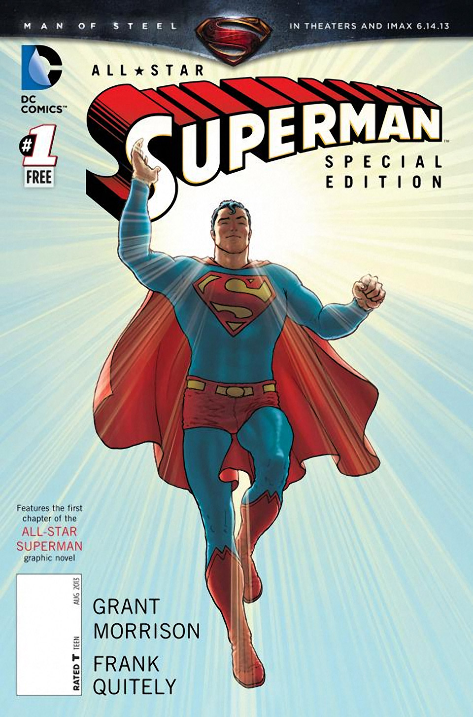 "June 12: ""Man of Steel"" Day at Comic Book Retailers"