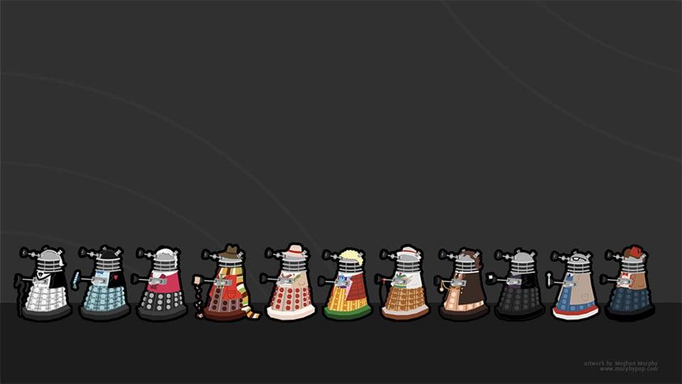Doctor Who / Dalek Mashup Death Parade