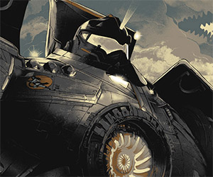 Limited Edition Pacific Rim WW2 Style Prints