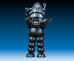 Robby the Robot 1/6 Scale Action Figure