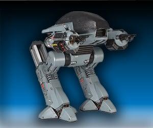 10″ Robocop ED-209 Figure With Sound