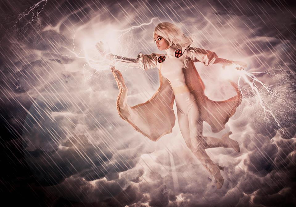 Amazing Storm Cosplay from Phoenix Comicon