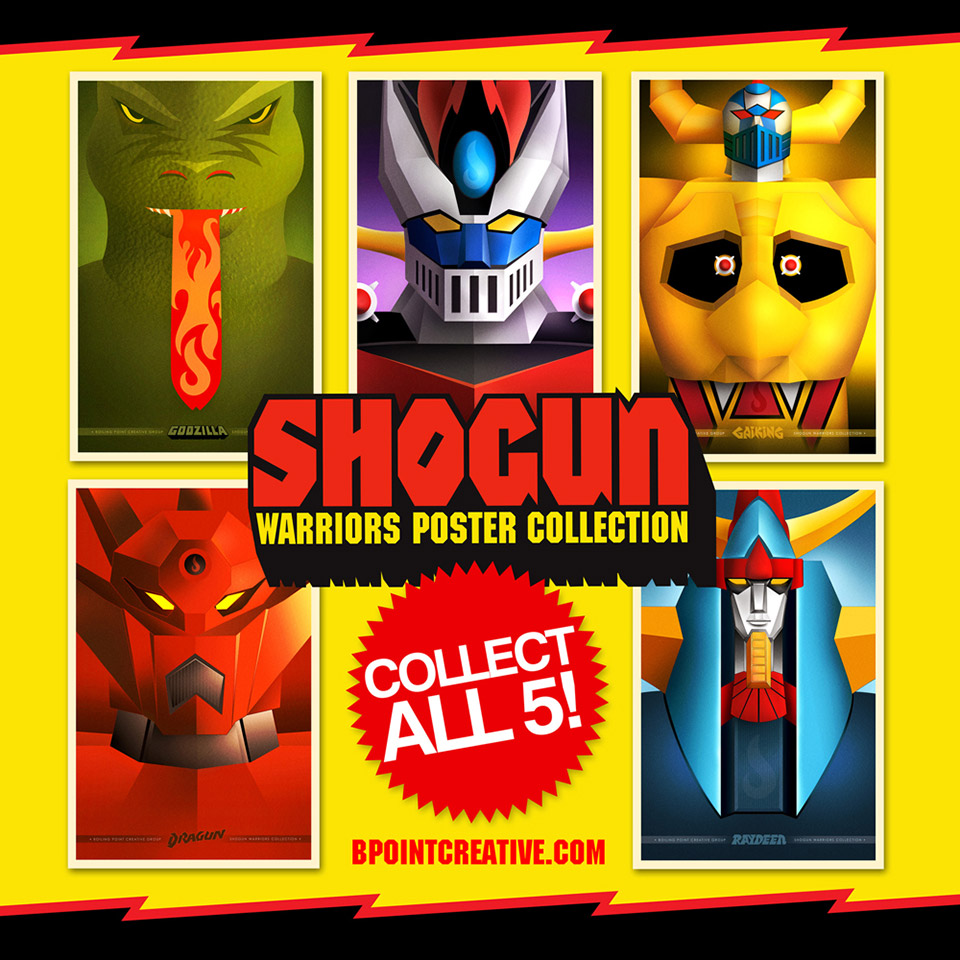 Awesome Shogun Warriors Poster Collection