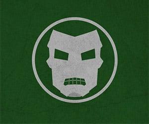 Simplistic Heroes & Villains Poster Designs