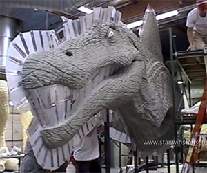 The Making of the Jurassic Park III Spinosaur