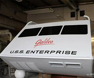 Unveiling the Restored Star Trek Galileo Shuttle