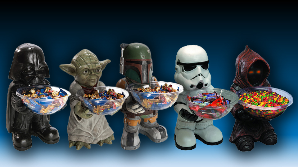 Five New Star Wars Candy Holders