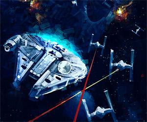 Star Wars Fan Art by Billy Sagulo