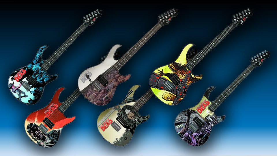 The Walking Dead Rockmaster Electric Guitars