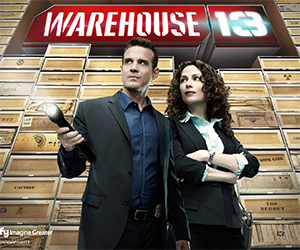 Warehouse 13: Artifact Guide and Motion Comic Adventure