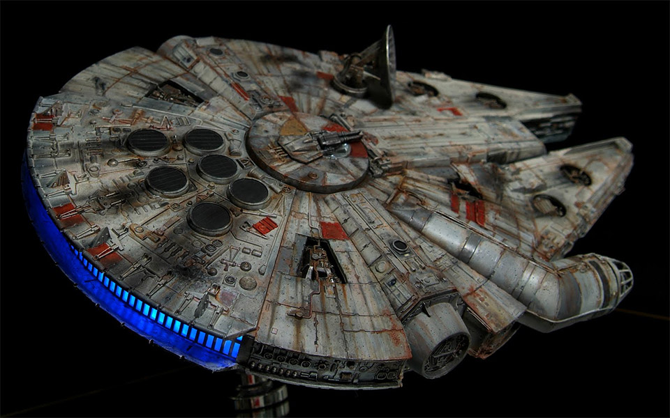 YT-1300 Millenium Falcon Scale Model