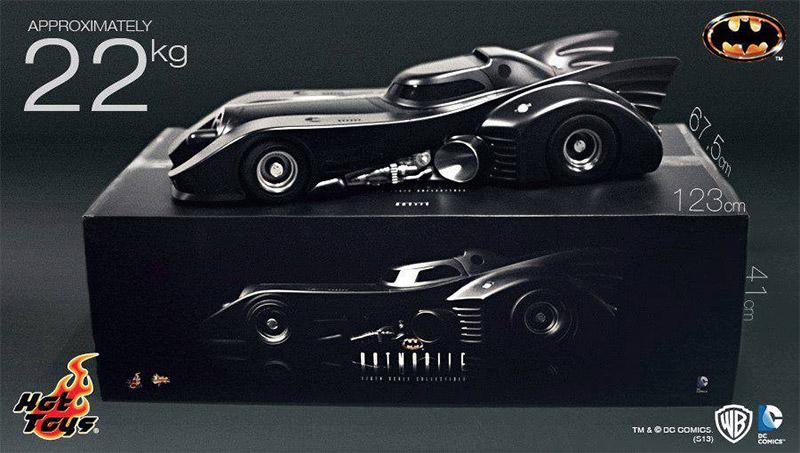 Batmobile Toy Model 1989_batmobile_scale_model_1