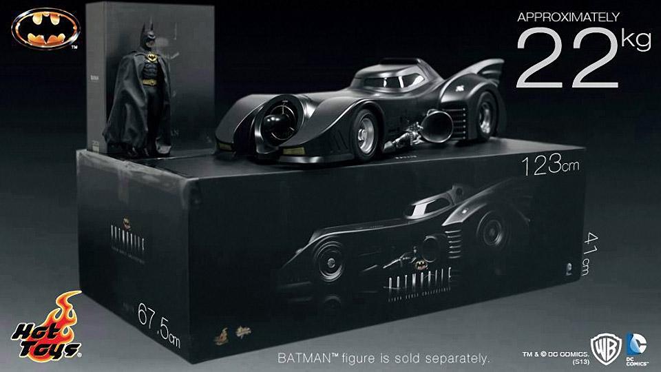 Incredible 1/6 Scale Batmobile Collectible Vehicle