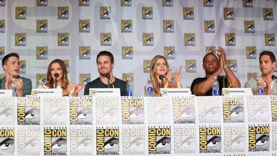 Arrow: Full Comic-Con Panel Footage