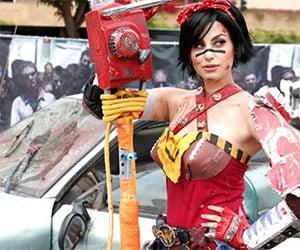 Terrific Atomic Wonder Woman Cosplay