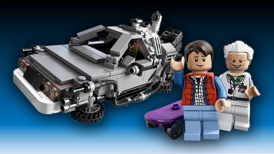 Official Back to the Future LEGO CUUSOO Set