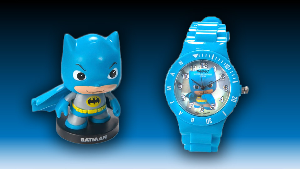 Batman Little Mates Watch and Mini-Figure Set