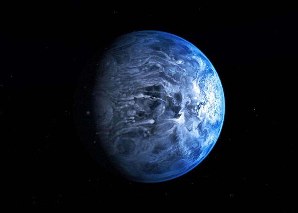 Big Blue Marble: Exoplanet Has Blue Atmosphere