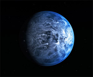 Big Blue Marble: Exoplanet Has Blue Atmosphere
