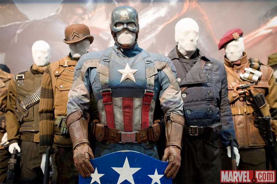 Captain America Winter Soldier Uniform Revealed