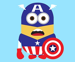 Despicable Me 2 Superhero Characters