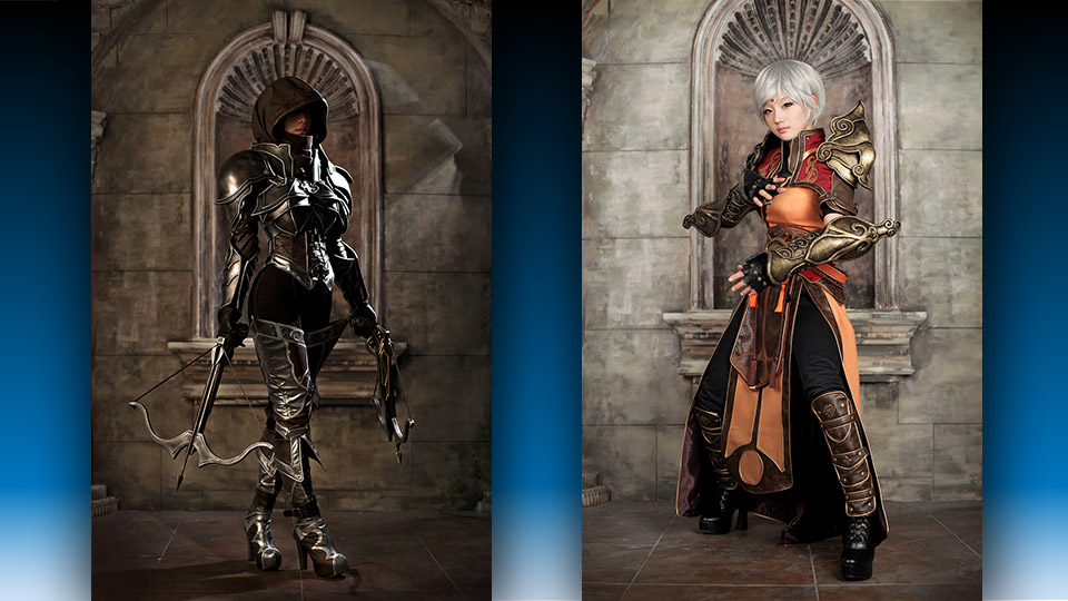Incredible Diablo 3 Demon Hunter and Monk Cosplay