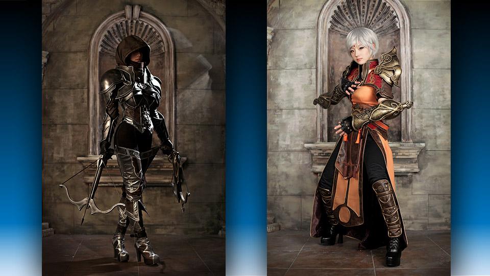Incredible Diablo 3 Demon Hunter and Monk Cosplay