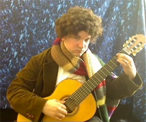 Doctor Who Theme on Classical Guitar