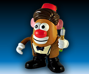Doctor Who 11th Doctor Mr. Potato Head