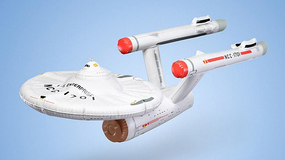 Star Trek U.S.S. Enterprise Inflatable