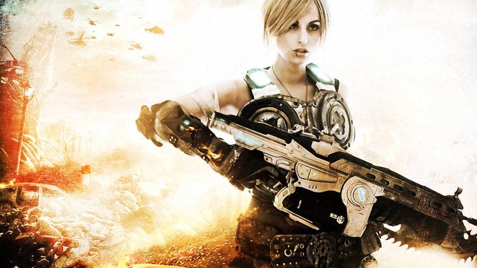 Gears of War Anya Stroud Cosplay