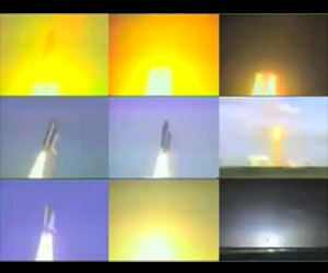 Montage Video of All Space Shuttle Launches
