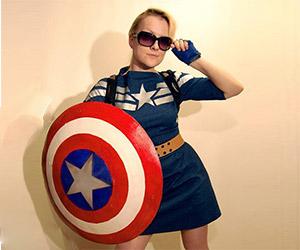 Lovely Handmade Captain America Dress