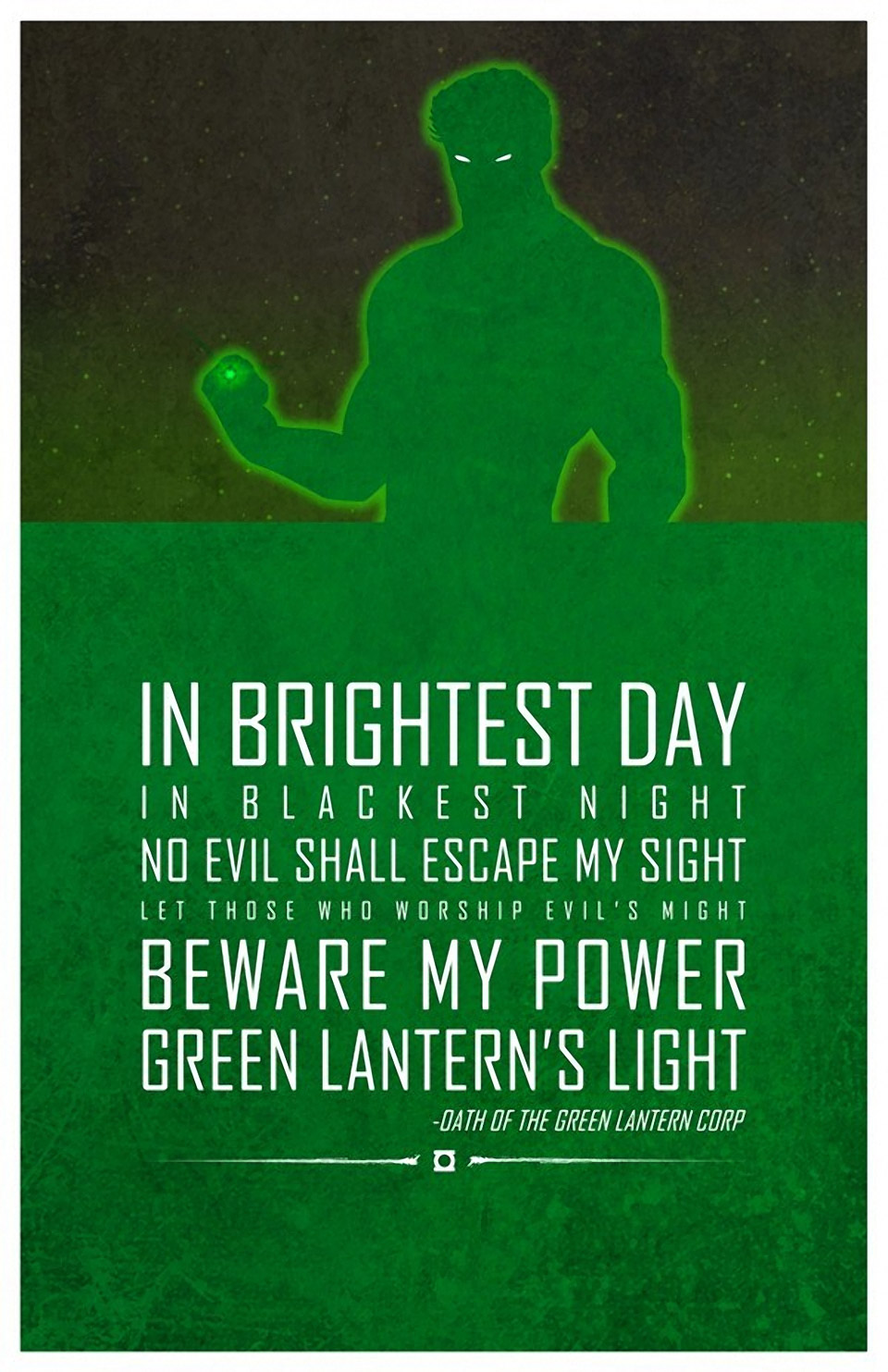 Heroic Words of Wisdom: Inspirational Posters